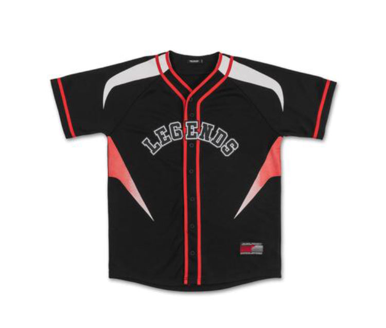 Legends 2.0 Jersey in Black