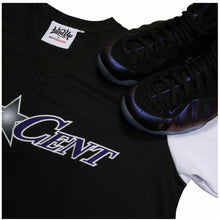 "Load image into Gallery viewer, Eggplant ""One Cent"" Two Tone Warmup Jersey"