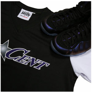 "Eggplant ""One Cent"" Two Tone Warmup Jersey"