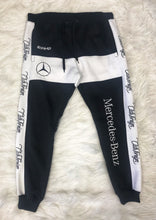 Load image into Gallery viewer, ClubForeign Mercedes Benz Embroidered Sweatsuit (Black/White)