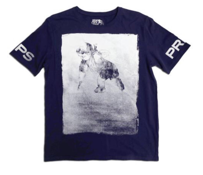 Exit Poll Tee (Navy)