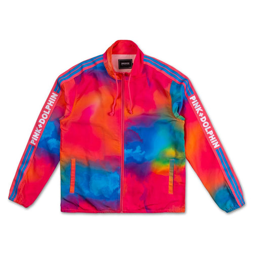 Tropic Breeze Windbreaker In Pink