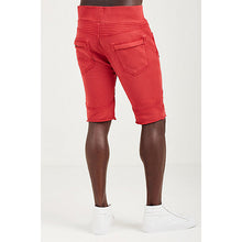 Load image into Gallery viewer, Moto Sweatshorts (Ruby Red)