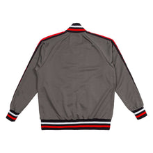 Load image into Gallery viewer, Script Track Jacket in Grey
