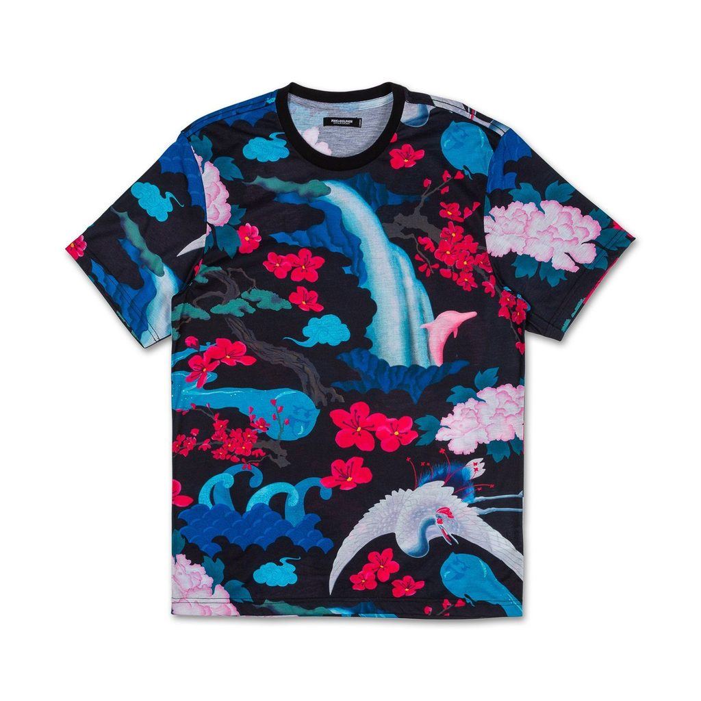 Japanese Garden Tee in Black