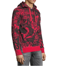 Load image into Gallery viewer, Graphic Hoodie with Side Zips