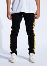 Load image into Gallery viewer, Bolt Denim (Black/Yellow)