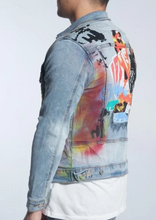 Load image into Gallery viewer, Angel Denim Jacket