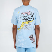 Load image into Gallery viewer, Drip Drip Tee in Blue