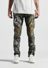 Load image into Gallery viewer, Gwen Biker Denim