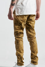 Load image into Gallery viewer, Badu Biker Denim (Mustard)