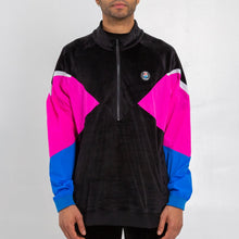 Load image into Gallery viewer, Tech Velour Jacket 3.0 in Black