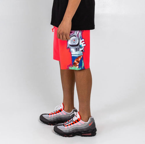 Superfuture Shorts in Pink