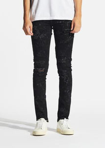 Vulcan Biker Denim (Black)
