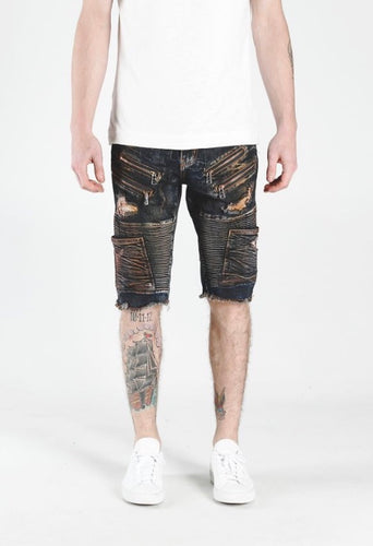 Lee Biker Shorts (Indigo)
