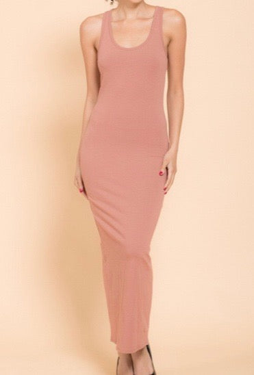 Slim Fitted Maxi Dress