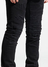 Load image into Gallery viewer, Parker Biker Denim (Black)