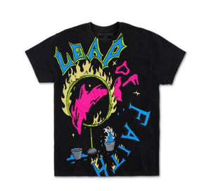 Leap Of Faith Tee in Black
