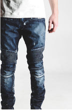 Load image into Gallery viewer, Boy Biker Denim