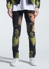 Load image into Gallery viewer, Walker Rip & Repair Denim (Rasta Tie Dye)