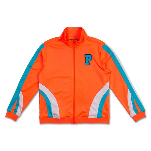 Bold Track Jacket in Orange