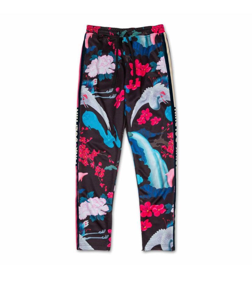 Japanese Garden Trackpant in Black