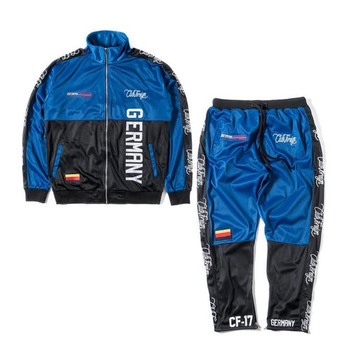 Performance Sports Suit Set Jacket and Pants Germany Blue