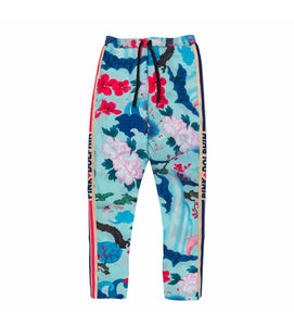 Japanese Garden Trackpant in Lt. Blue