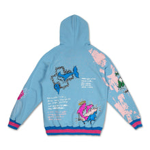 Load image into Gallery viewer, Drip Drip Hoodie in Blue