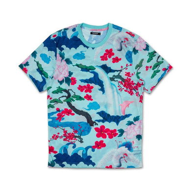 Japanese Garden Tee in Lt. Blue