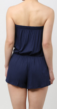 Load image into Gallery viewer, Sleeveless Romper (Navy)