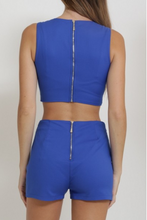 Load image into Gallery viewer, 2 Piece High Waist Short Set