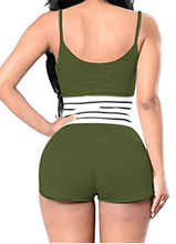 Load image into Gallery viewer, 2 Piece Short Set (Olive)