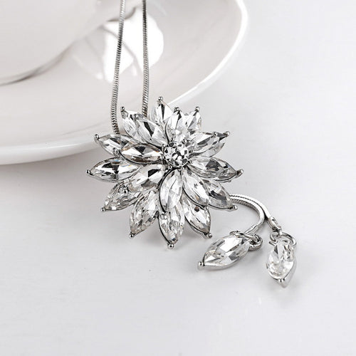 Girl/Women Rhinestone Crystal Necklace