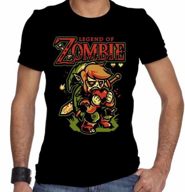 Zombie! Legend of Zelda Unisex T-Shirt - NerdAbstract