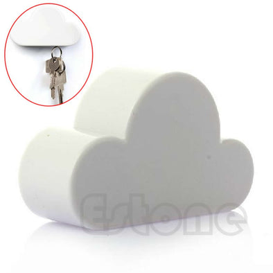 Angelic Cloud-Shaped Magnetic Key Holder - NerdAbstract