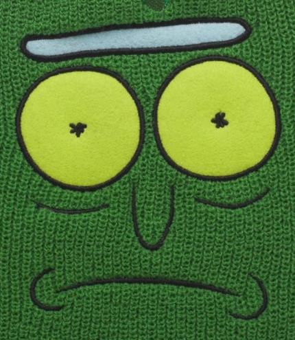 Pickle Rick Beanie (Pre-Order ships in November!) - NerdAbstract