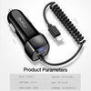 Smart Quick Charge Car Charger for iPhone & Android - Lightning, Type C,  Micro - NerdAbstract