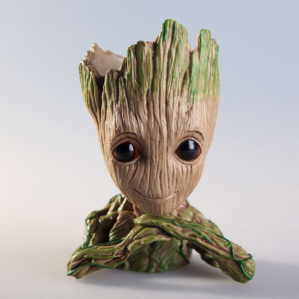 Adorable Baby Groot Anime Action Figure - NerdAbstract