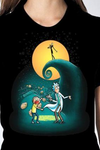 Rick and Morty Nightmare Before Christmas Unisex T-Shirt - NerdAbstract