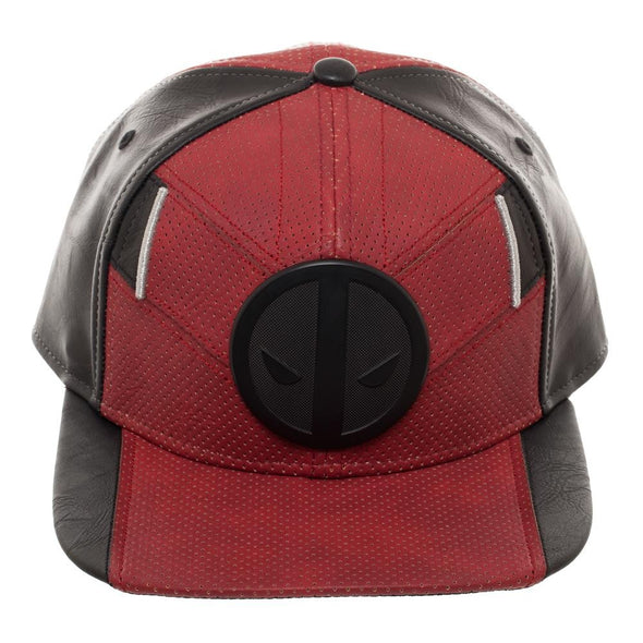 Marvel's Deadpool Suit Up PU Ballistic Snapback (Pre-Order Ships in October) - NerdAbstract