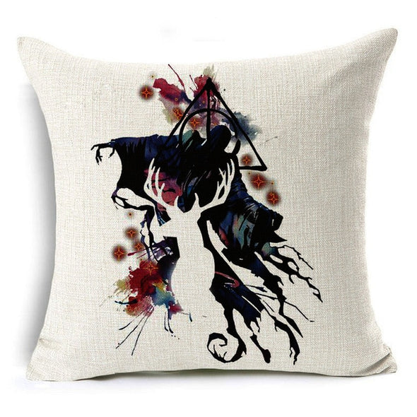 Harry Potter Style Decorative Pillow Cushion Cover - NerdAbstract
