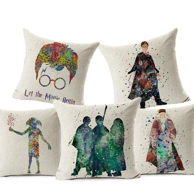 Harry Potter Cushion Cover - NerdAbstract