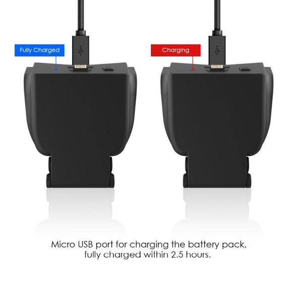 PS4 Extended Battery Pack and Charging Cable  - Free Shipping - NerdAbstract
