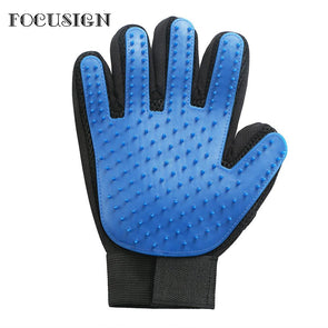 Pet Grooming Glove - NerdAbstract