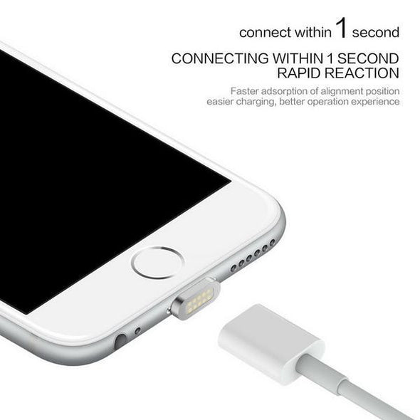 High Speed Charging Magnetic Cable for iPhone & Android - NerdAbstract
