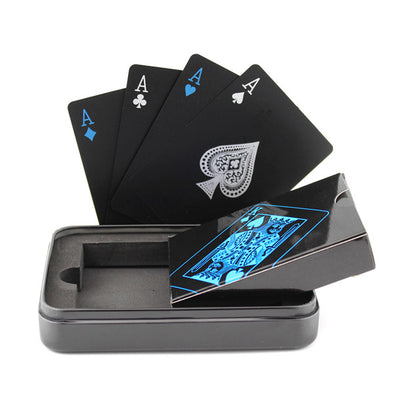 Black Novelty Playing Cards - NerdAbstract
