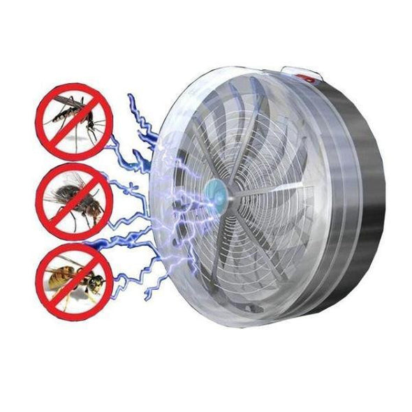 SOLAR BUG ZAPPER TRAP - NerdAbstract