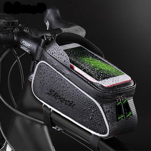 Mountain Road Bicycle Waterproof Phone Pouch - NerdAbstract