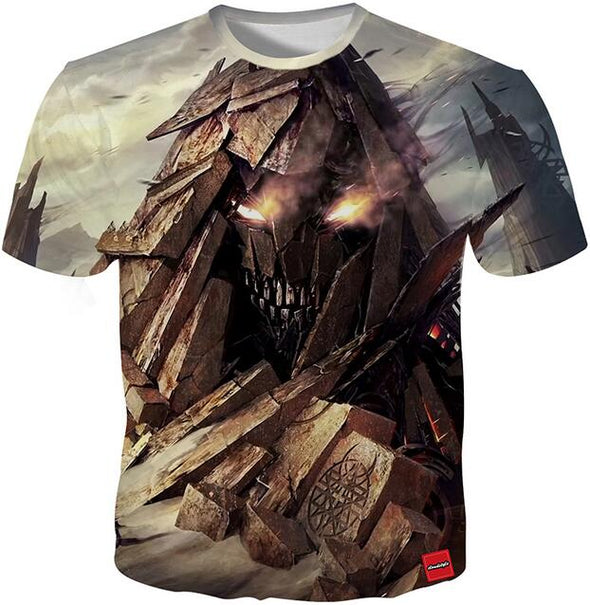 Distrubed 3D Print T-Shirt - All Sizes Available - NerdAbstract